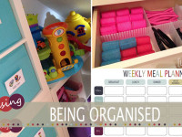 being organised