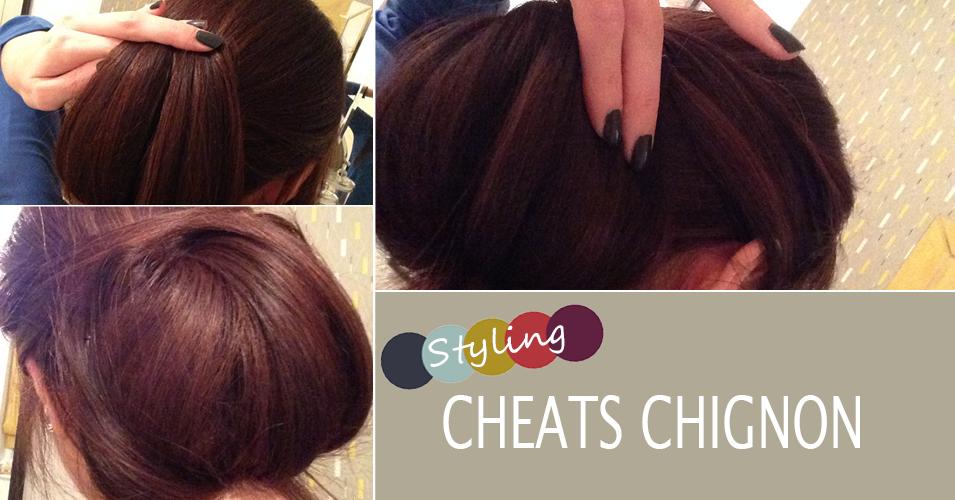 Cheats Chignon Hair Tutorial