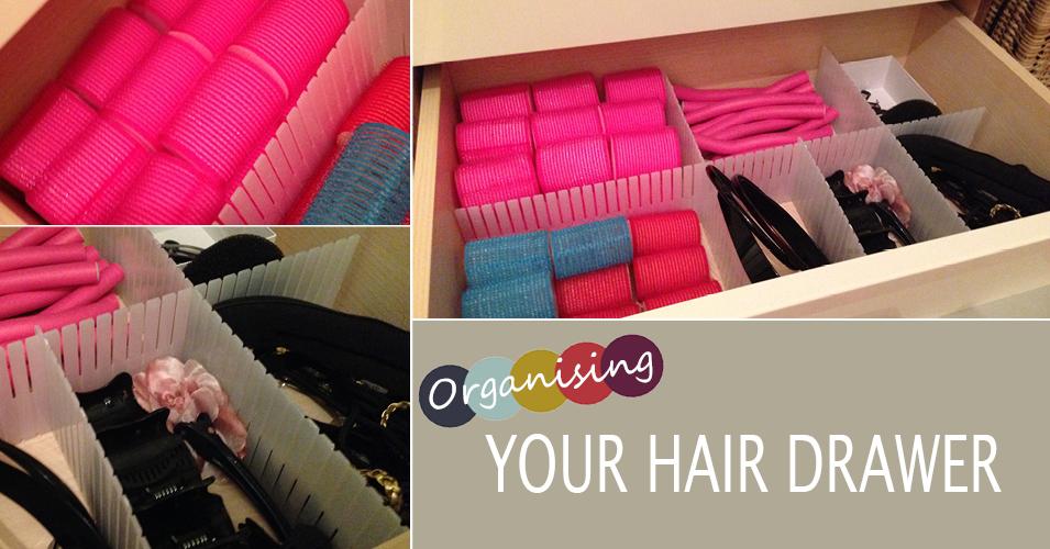 organising your hair drawer