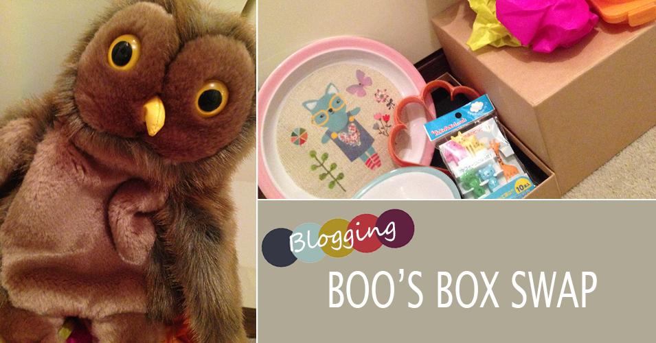 Boo's Parenting Blog Box Swap