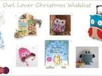Owl Lovers Christmas Wishlist