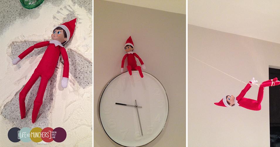 Elf on the Shelf blog hop