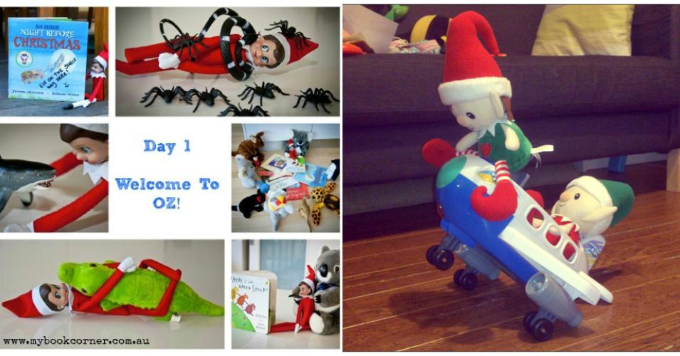 Elf on the shelf ideas wk2