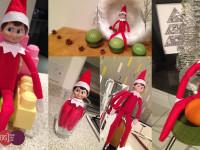 Elf on the shelf ideas wk3