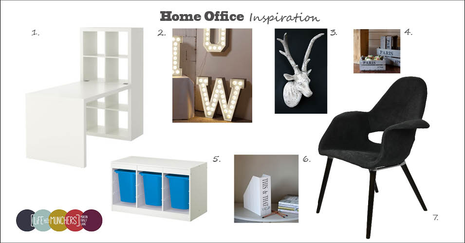 Home Office Mood Board | Project House