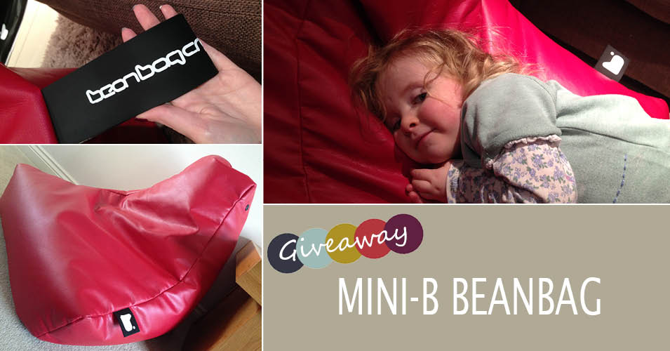 Kids Furniture | Mini-b Beanbag Review & Giveaway