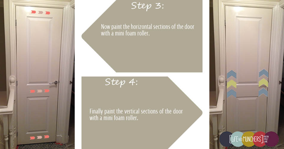 how to paint panelled doors
