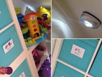 understair toy storage