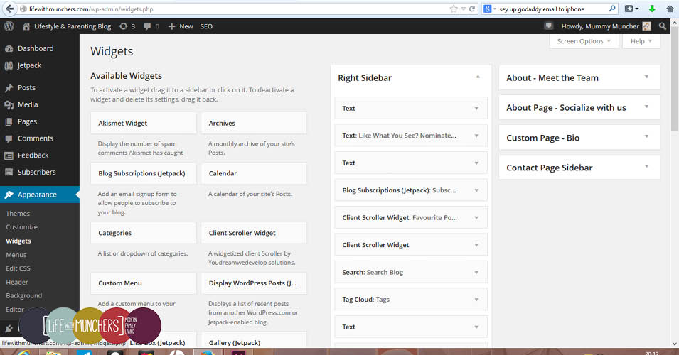 How to add social icons to wordpress