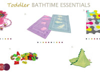 Toddler bathtime essentials