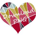 heart printable png