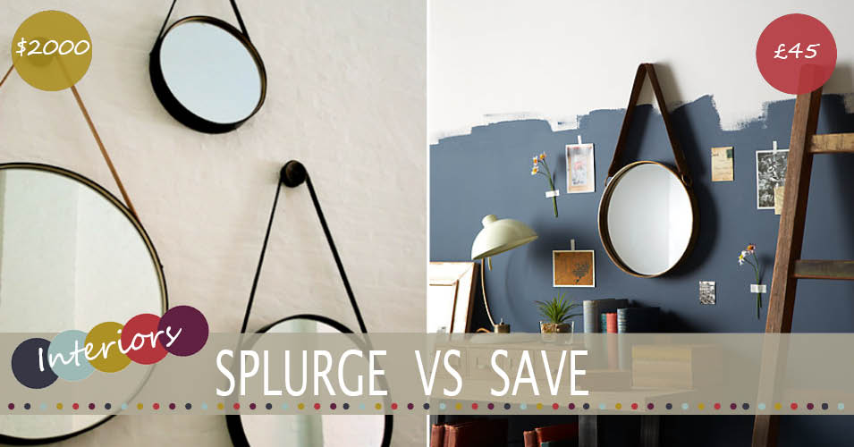 Splurge Vs Save | The Captain's Mirror