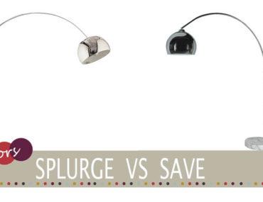 splurge vs save marble floor lamp