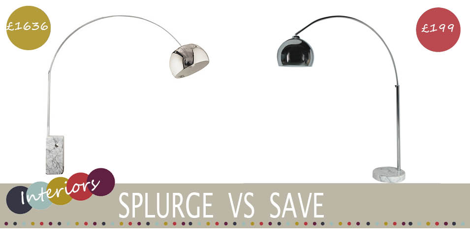 splurge vs save marble floor lamp