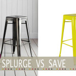 splurge vs save tolix bar stool