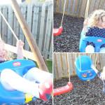 swings mummy daddy me ordinary moment