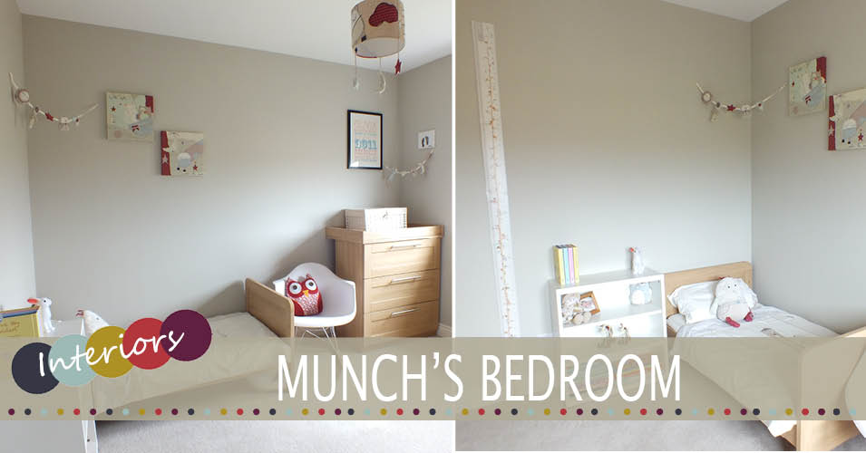 Home tour munch 39 s bedroom family home lifestyle for Baby s bedroom ideas