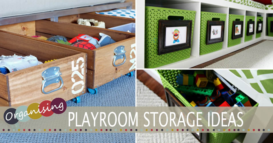 Organising Spaces | Playroom Storage Ideas