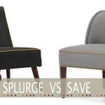 cheap grey armchair