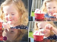 mummy daddy mes ordinary moment ice cream