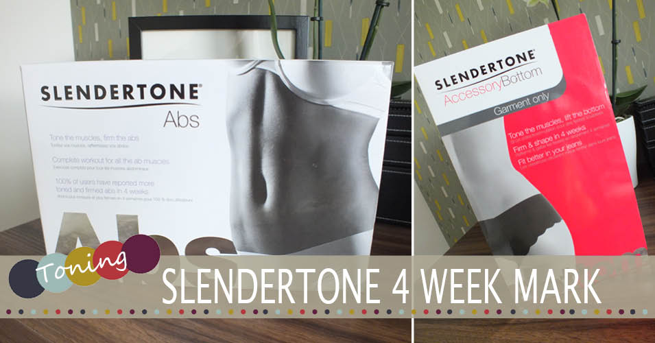 Slendertone Abs & Slendertone Bottom | The 4 Week Review