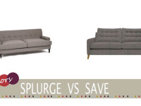 cheap modern grey sofa