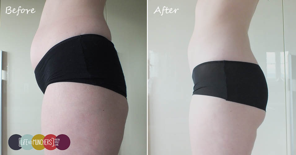 slendertone abs before and after