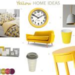 Yellow home ideas 2014
