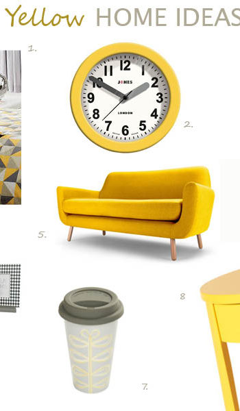 Yellow home ideas 2014