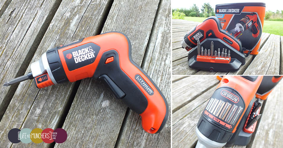 black & decker autoselect screwdriver