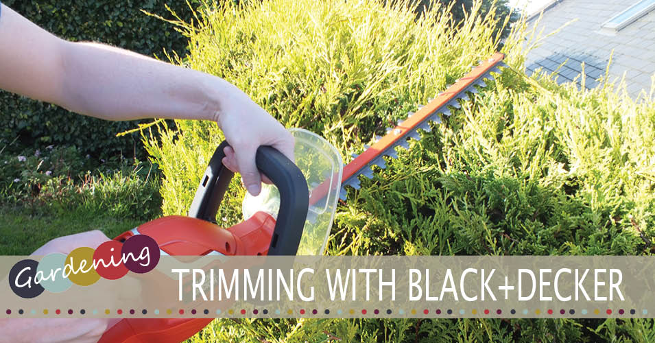 BLACK+DECKER Hedgetrimmer