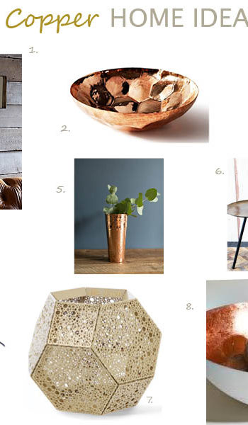 Copper home ideas 2014