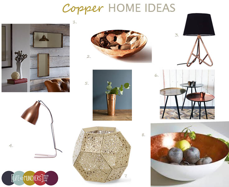 shop the trend copper home decor ideas - Copper Home Decor