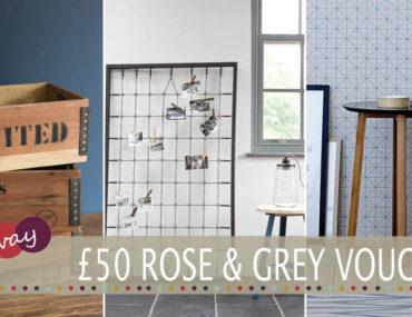 Rose & Grey Giveaway