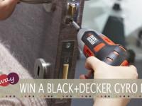 BLACK+DECKER Gyro Driver Giveaway
