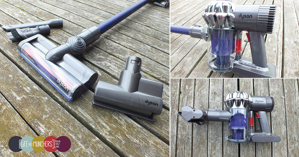 how to clean out a dyson hand vacuum