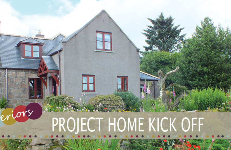 Project home kick off
