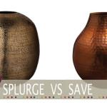 cheap copper vase