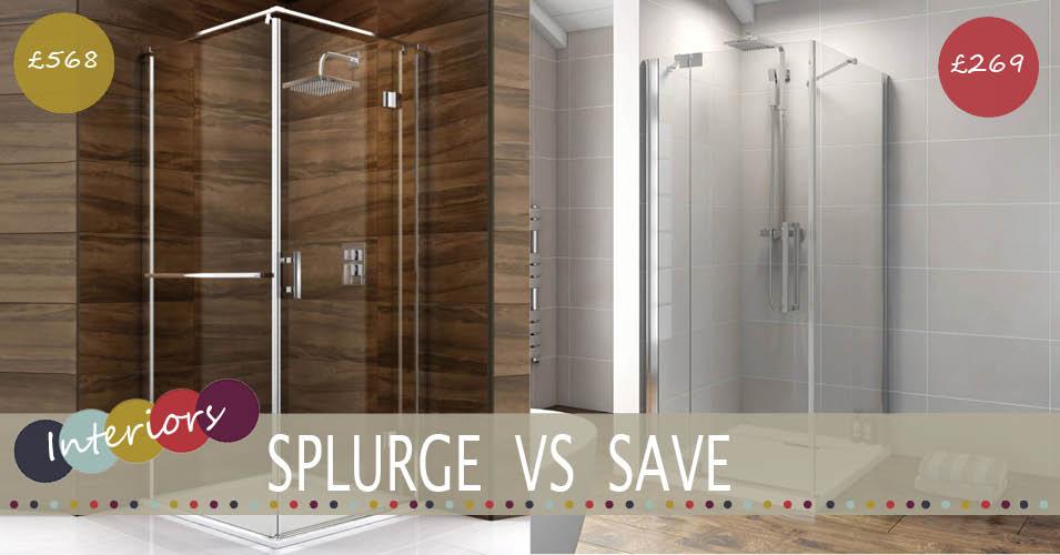 Splurge Vs Save | Frameless Shower Enclosure - Family, Home ...