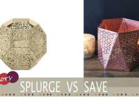 Cheap copper tealight holder