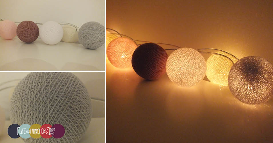 Cable & cotton lights review