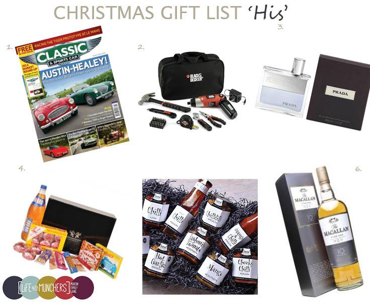Christmas Gift Ideas for Men - Family, Home & Lifestyle Blog | Life ...