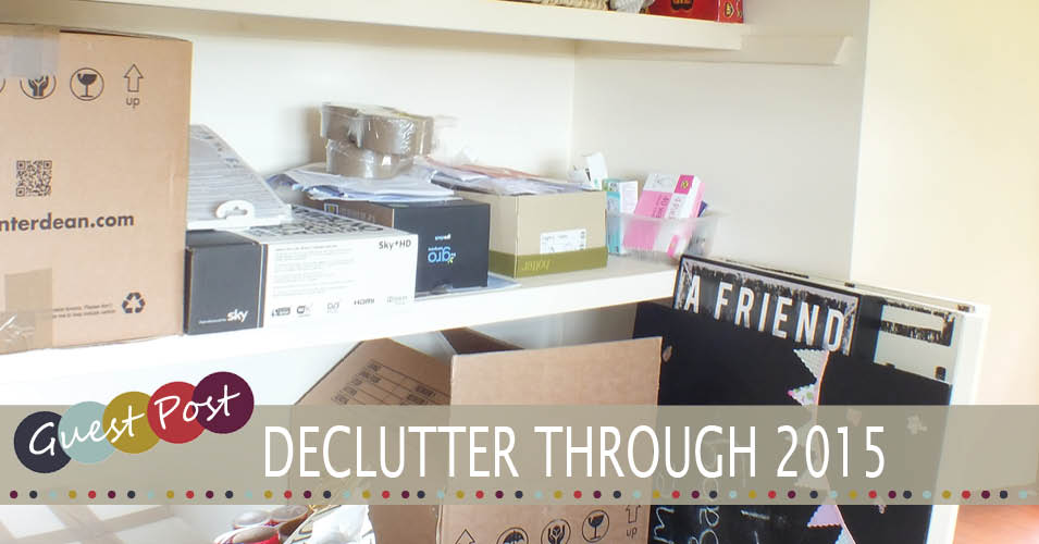 12 Monthly Tips to De-Clutter Your Home for 2015