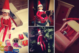 Elf on the shelf ideas 2014