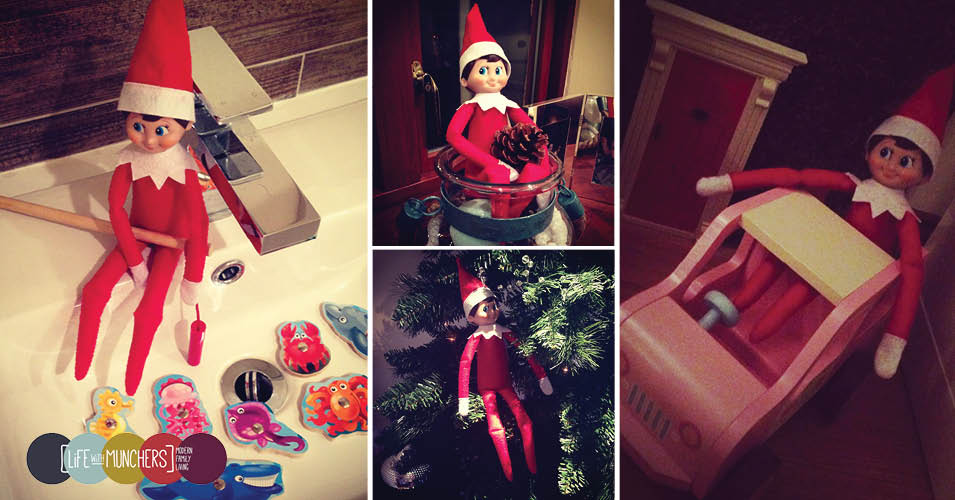 Elf on the shelf ideas 2014
