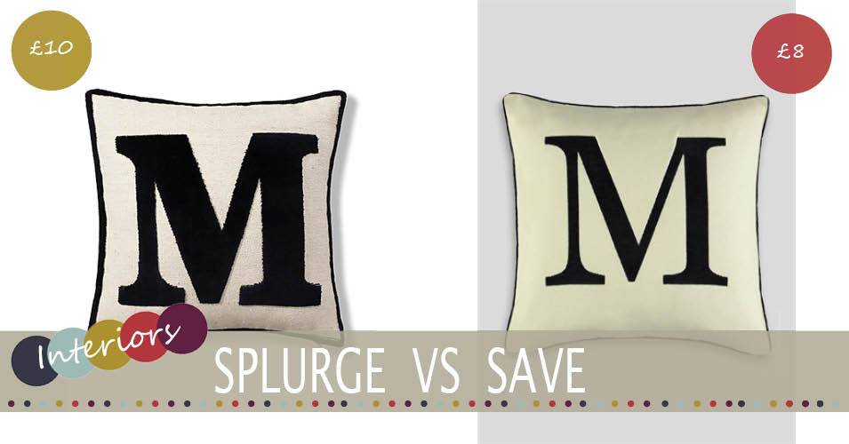 Cheap Letter Cushion