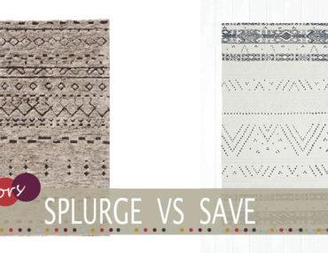 Cheap berber style rug