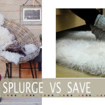 Cheap sheepskin rug