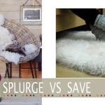 Cheap sheepskin rug
