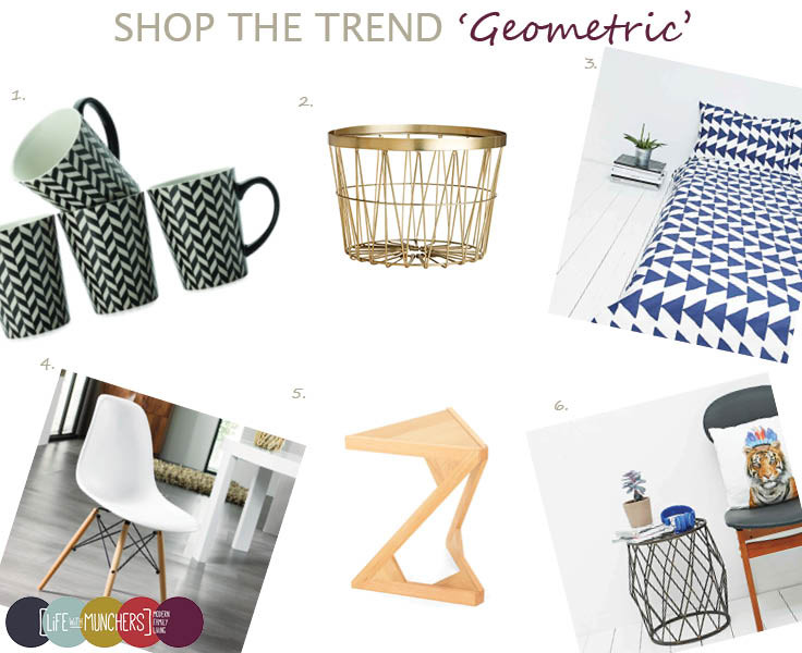 Shop The Trend | Geometric Home Ideas